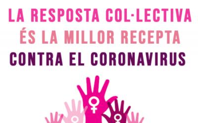La resposta col·lectiva és la millor recepta contra el coronavirus