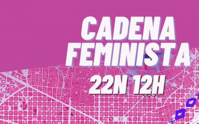 Participa a la Cadena Feminista