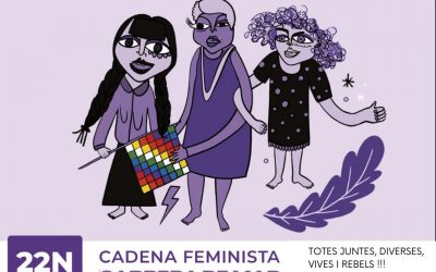 Cadena Feminista a Cabrera de Mar
