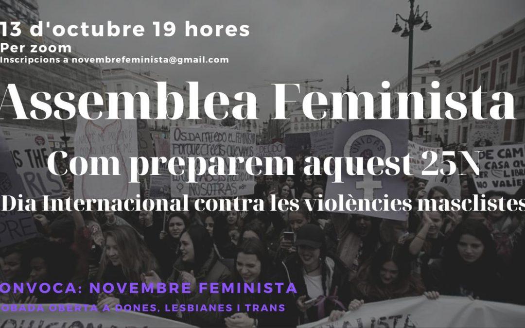 Assemblea Feminista. Preparem aquest 25N