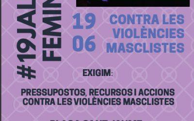 19J Concentració contra les violències masclistes