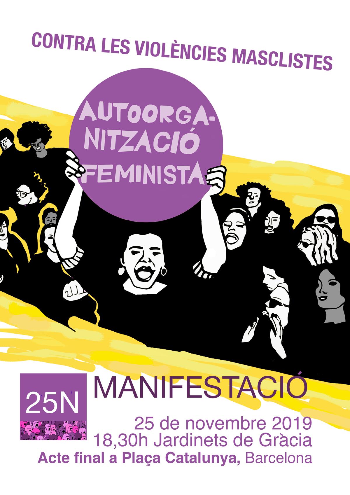 Manifestació 25N 2019