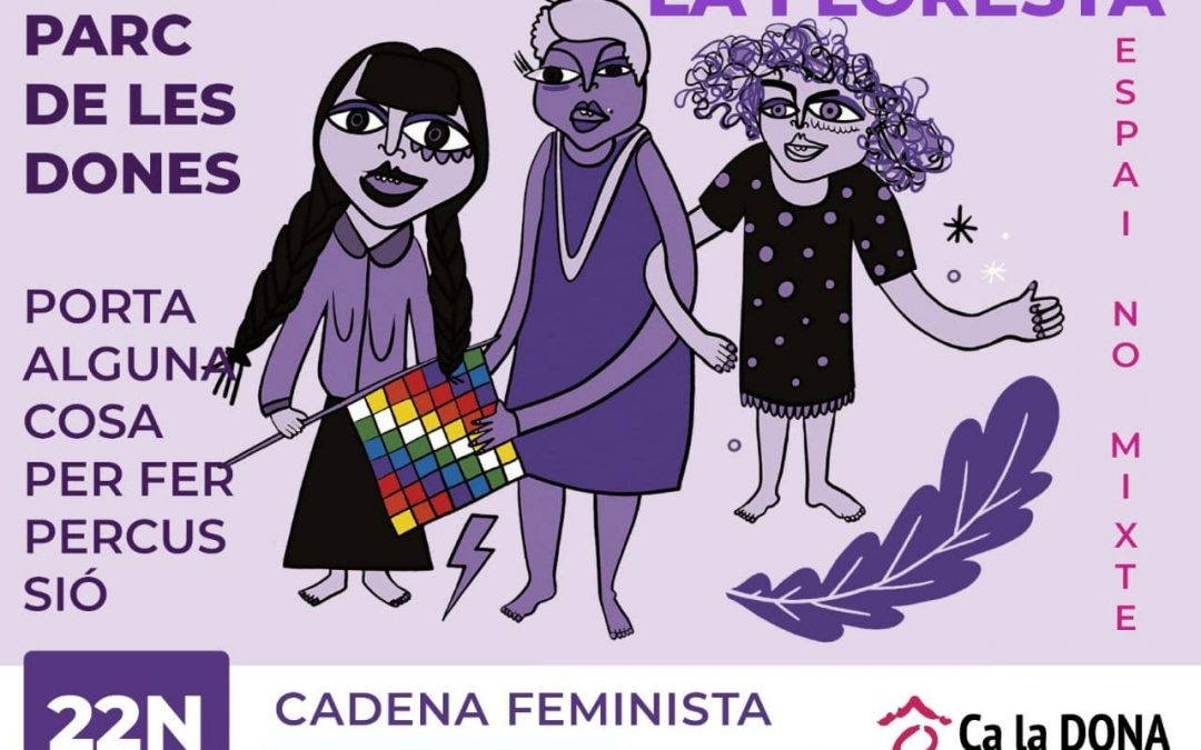 Cadena Feminista a La Floresta