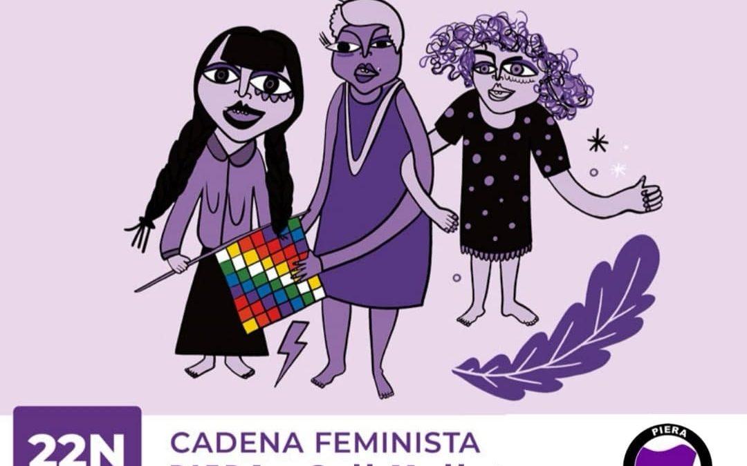 Cadena Feminista a Piera