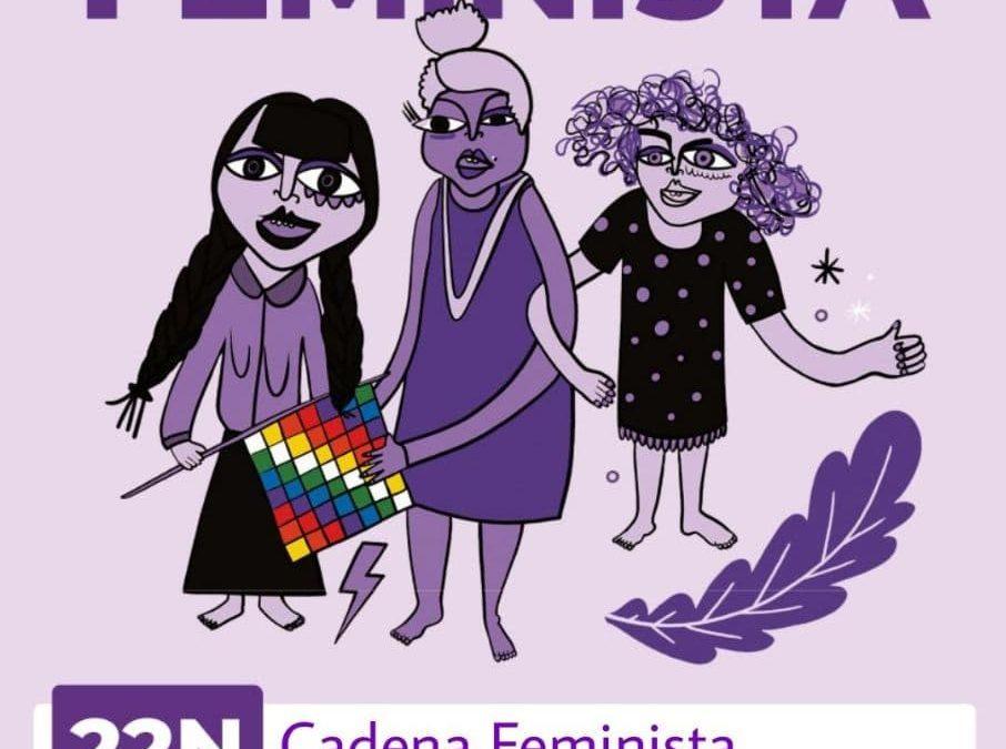 Cadena Feminista a Sant Pol de Mar