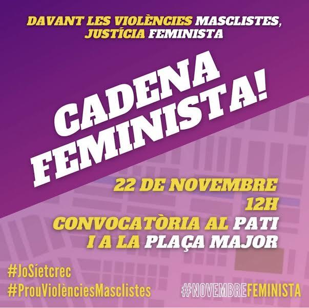 Cadena Feminista a Tàrrega