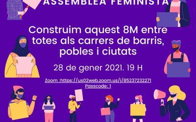 Assemblea Feminista 8M 28 de gener 19h